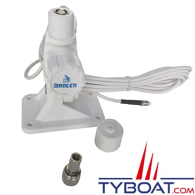 Banten - Support plastique pour antenne VHF série Fastfit  - câble longueur 6 mètres