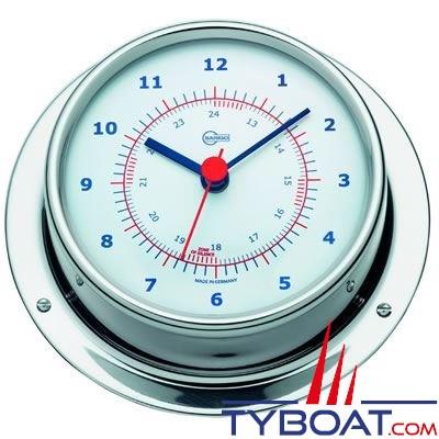 BARIGO - Horloge montre de bord série Regatta Ø100mm - version inox polie