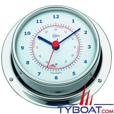 Barigo série Regatta Ø100mm - Horloge montre de bord - version inox polie