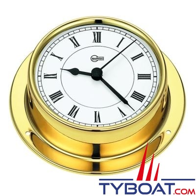 Barigo série Tempo Ø85mm - Horloge montre de Bord - version laiton