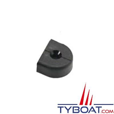 Barton Marine - Embout plastique pour rail en T - largeur 25 mm (x2)