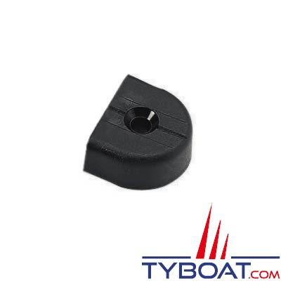 Barton Marine - Embout plastique pour rail en T - largeur 32 mm (x2)