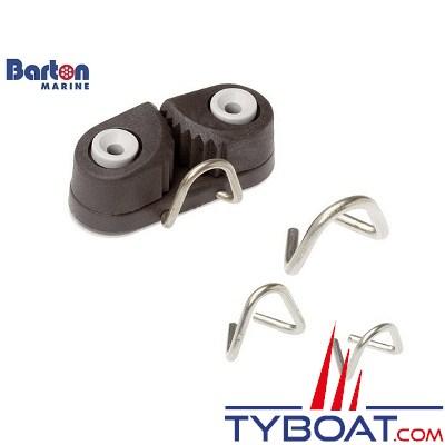 Barton Marine - Filoir frontal inox pour Ø écoute 10 à 14 mm