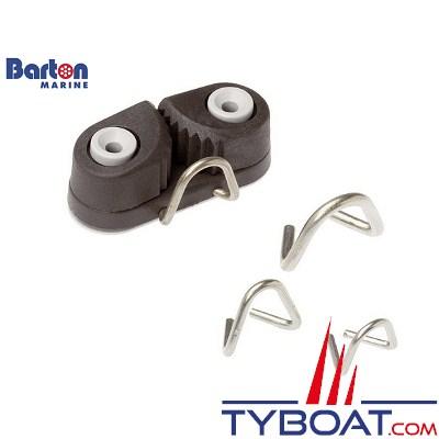 Barton Marine - Filoir frontale inox pour Ø écoute 10 mm maxi