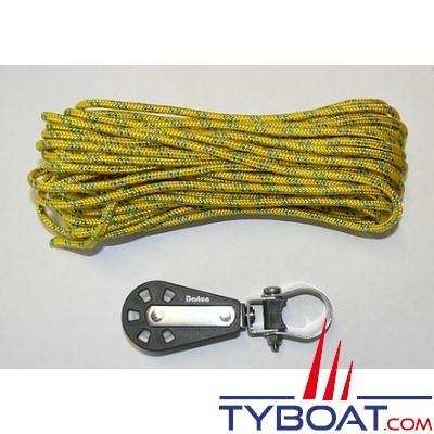 Barton Marine - Kit poulies drosse pour enrouleur Plastimo 406