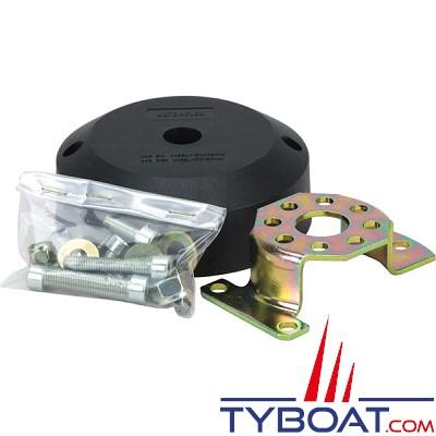 Base droite Ultraflex X34 livré avec kit de fixation pour boîtier de direction T71 à T74