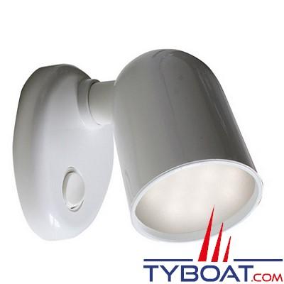 BATSYSTEM - Applique Tube à led - 8/30 Volts 150 lumens - Modèle orientable avec interrupteur -Blanc.