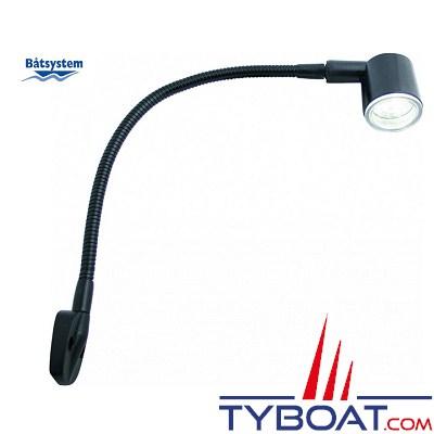 BATSYSTEM - Lampes à LED KURS - Argenté - LED rouge/blanc