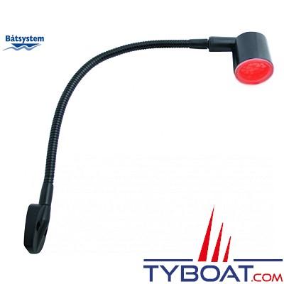 BATSYSTEM - Lampes à LED KURS - Noire - LED rouge/blanc