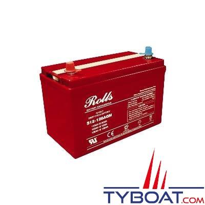 Batterie AGM Rolls 12 Volts 115 Ampères
