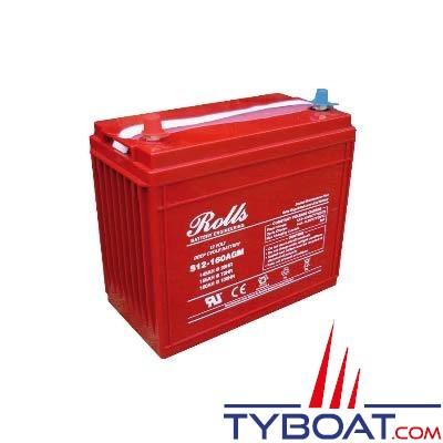 Batterie AGM Rolls 12 Volts 145 Ampères