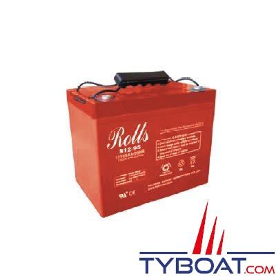 Batterie AGM Rolls 12 Volts 95 Ampères