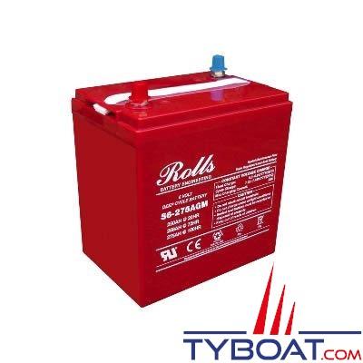 Batterie AGM Rolls 6 Volts 250 Ampères
