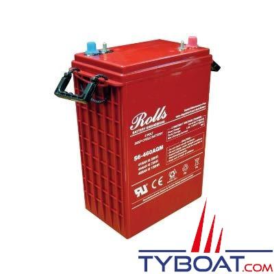 Batterie AGM Rolls  6 Volts 415 Ampères