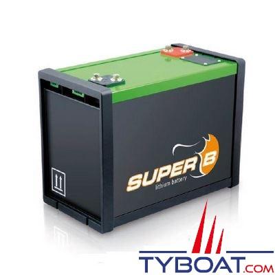Batterie lithium ion super b servitude 12v 160a h super b for Avantage batterie lithium ion