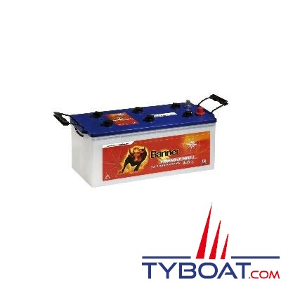Batterie marine Banner Gamme Energy Bull 12 Volts 180Ah mixte démarrage / servitude
