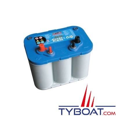 Batterie Optima Bleue mixte démarrage / servitude 12V 55A