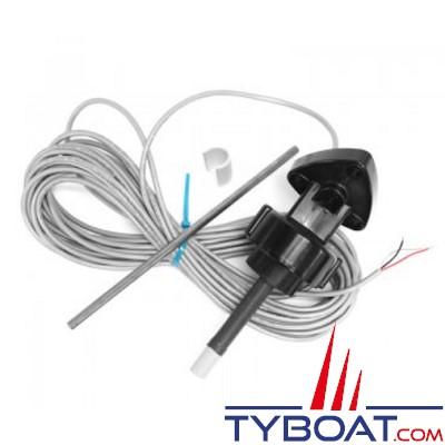 Bennett - Tête de vérin tribord avec câble vert 9m - sans connecteur