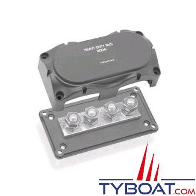 BEP Marine - Boîtier multi-connexions - 4 connecteurs - 300 Ampères