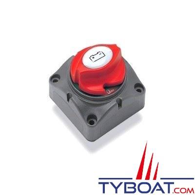 BEP Marine - Coupe-batterie unipolaire 275 Ampères continu - IP56 (sous blister)
