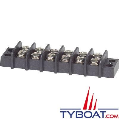 Blue Sea Systems - Bloc de jonction - 6 circuits 20 Ampères - 2406 - par 5