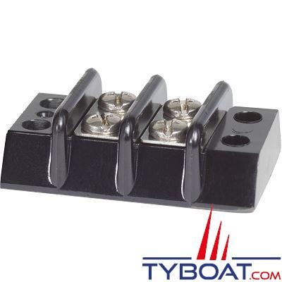 BLUE SEA SYSTEMS - Bornier 2 circuits 30a - BS2502
