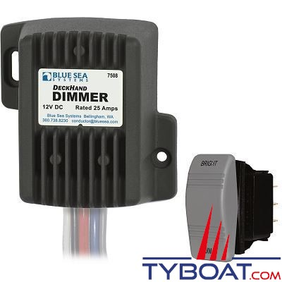 BLUE SEA SYSTEMS - Dimmer 25a 12v - BS7508