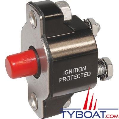 Blue Sea Systems - Disjoncteur avec bouton poussoir md 50 Ampères