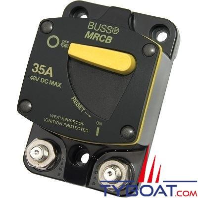 Blue Sea Systems - Disjoncteur thermique série 187  35 Ampères