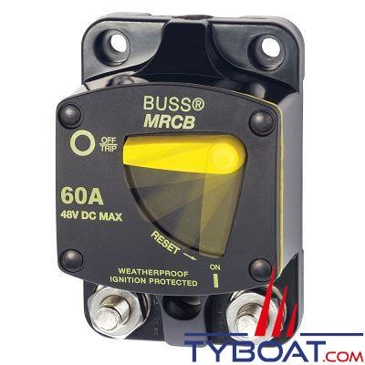 BLUE SEA SYSTEMS -  disjoncteur thermique série 187  60a