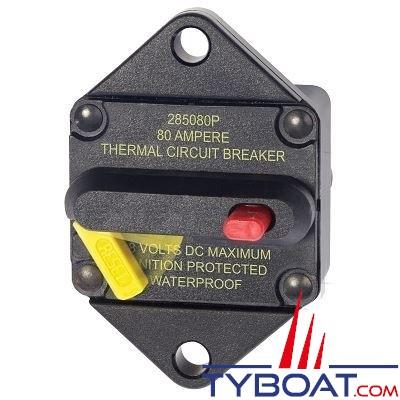 Blue Sea Systems - Disjoncteur thermique série 285 80 a