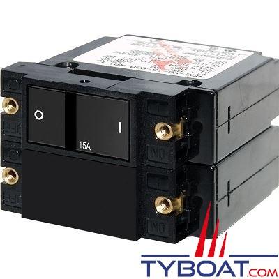 Blue Sea Systems - Disjoncteur thermique série a2  15 Ampères - BS7411