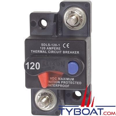 Blue Sea Systems - Disjoncteur thermique série klixon  120 Ampères - BS7178