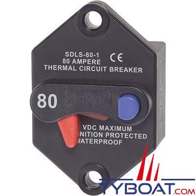 Blue Sea Systems - Disjoncteur thermique série klixon 80 Ampères - BS7076