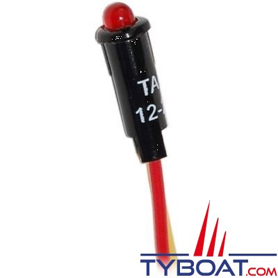 Blue sea Systems - Led rouge 11/64in 12vdc - 8171