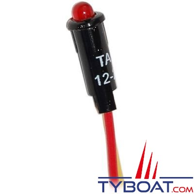 BLUE SEA SYSTEMS - Led rouge 11/64in 12vdc - BS8171