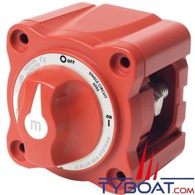 Blue Sea Systems - Mini coupe-batterie série M 6006 - 2 positions 1 entrée - 300A continu