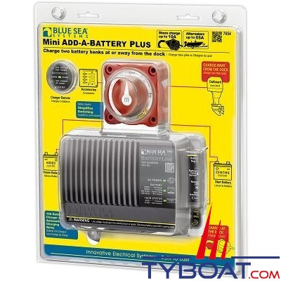 Blue Sea Systems - Relais de charge batterie mini pls-euro - BS7654