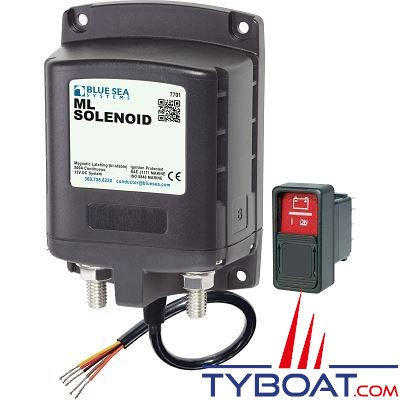 BLUE SEA SYSTEMS - Relais de charge ml 500a 12v rbs - BS7701