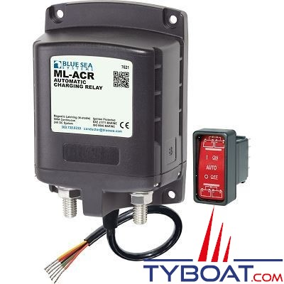 Blue Sea Systems - Relais de charge ml 500a 24v acr - BS7621