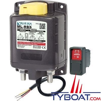 Blue Sea Systems - Relais de charge série ml - 12v rbs spst avec interrupteur  2 - 7713