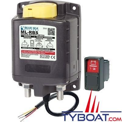Blue Sea Systems - Relais de charge série ml - 24v rbs spst avec interrupteur - 7717
