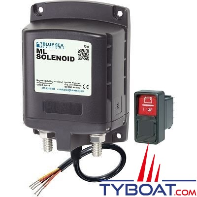 Blue Sea Systems - Relais de charge série ml - 500a 12v RBS - 7701