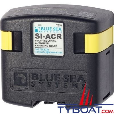 Blue Sea Systems - Relais de charge série si 120a 12/24v acr - 7610