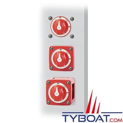 Blue Sea Systems - Switch de batterie série M - Double circuits - 300A