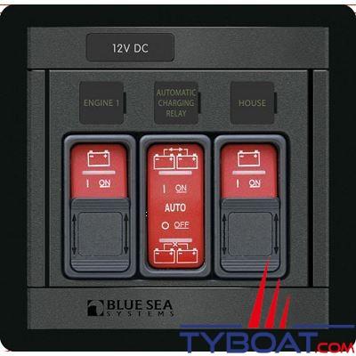 Blue Sea Systems - Tableau 360 pour commande série ml + relais - BS1147