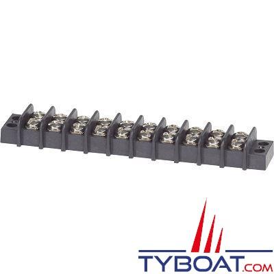Bloc de jonction Blue Sea 2410 Blocs 10 circuits 20A