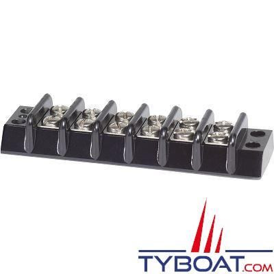 Bloc de jonction Blue Sea 2506 Blocs 6 circuits 30A