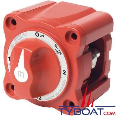 Blue Sea Systems - Switch de batteries série M - 4 positions - Double entrées -  300A