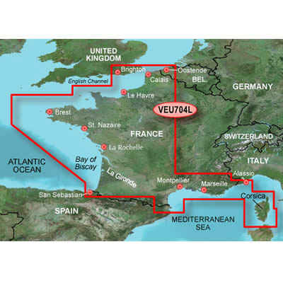 Cartes Garmin BlueChart